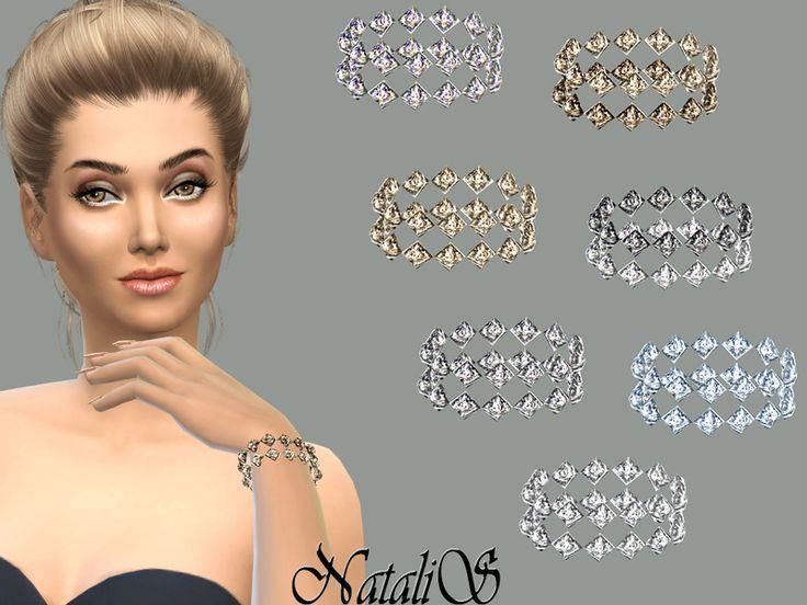 NataliS_Gentle crystals bracelet FT-FE
