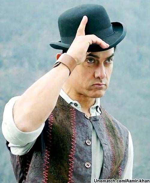 Aamir Khan was born on 14 March 1965 in Mumbai to Tahir Hussain, a film producer, and Zeenat Hussain.[7][8][9] Several of his relatives were members of the Hindi film industry, including his late paternal uncle, the producer-director Nasir Hussain.[9] He is related to the Indian freedom fighter and philosopher Abul Kalam Azad who is his great-grand uncle through his grandmother. like : http://www.Unomatch.com/Aamir-khan/