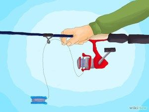 How to spool a spinning reel - Hold line tightly to begin with, and then snug while you reel in the rest of your line