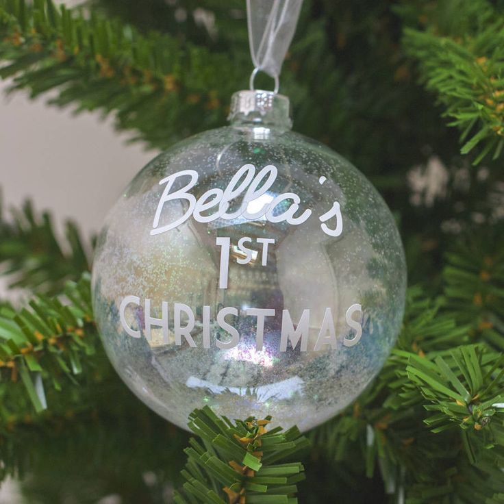 Baby's First Christmas Bauble – Little Pieces