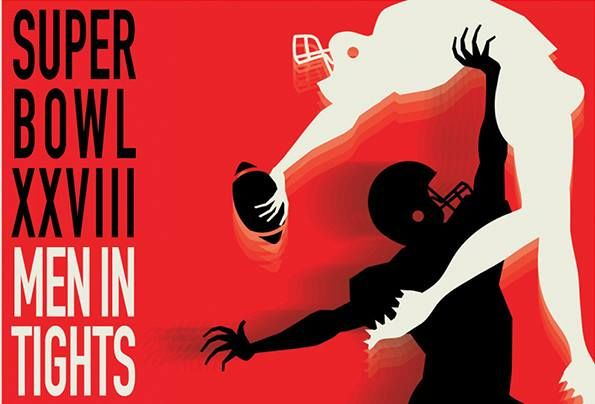 The 4th Annual Super Bowl: Men in Tights, A Football Comedy Show in San Francisco