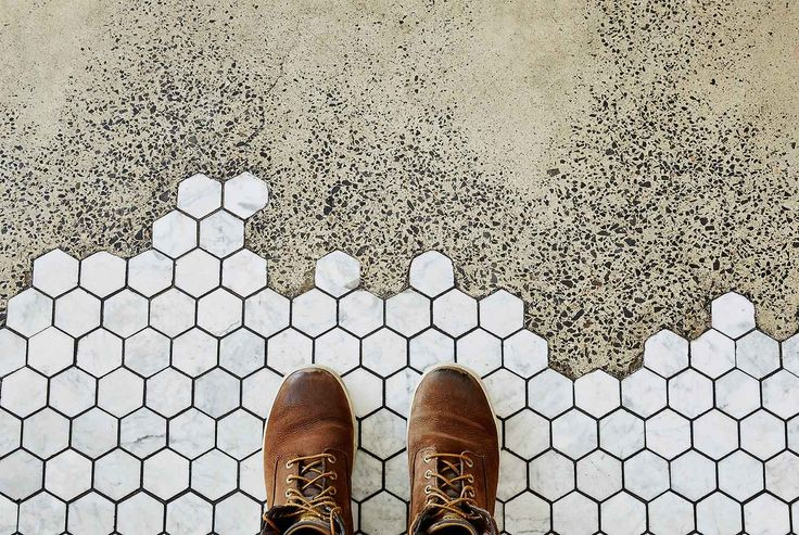 love this cafe and love the floor!
