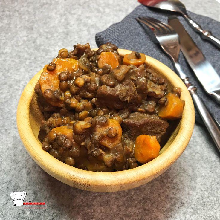 Boeuf Lentilles Carottes Recette Cookeo. Retrouvez mes recettes sucrées salées Companion, Cookeo, Thermomix, MultiDélices avec ou sans appareil culinaire
