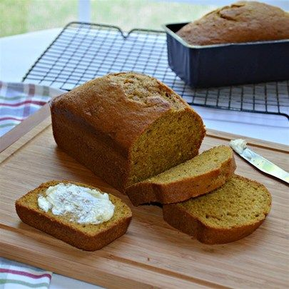 "Starbucks® Pumpkin Bread I ""By far the best pumpkin loaf recipe I've made on the site so far."""
