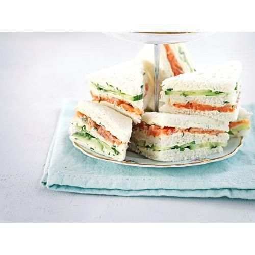 Smoked salmon and caper cream sandwiches recipe - By New Zealand Woman's Weekly