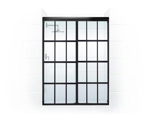 井 GRIDSCAPE™ Series [Patent Pending]Sliding Bypass (Closed) by Coastal Shower Doors. www.coastalind.com.