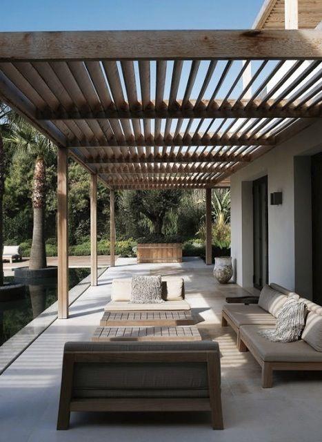 25 best ideas about pergola shade on pinterest for Diy modern pergola