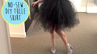 tulle skirt - YouTube