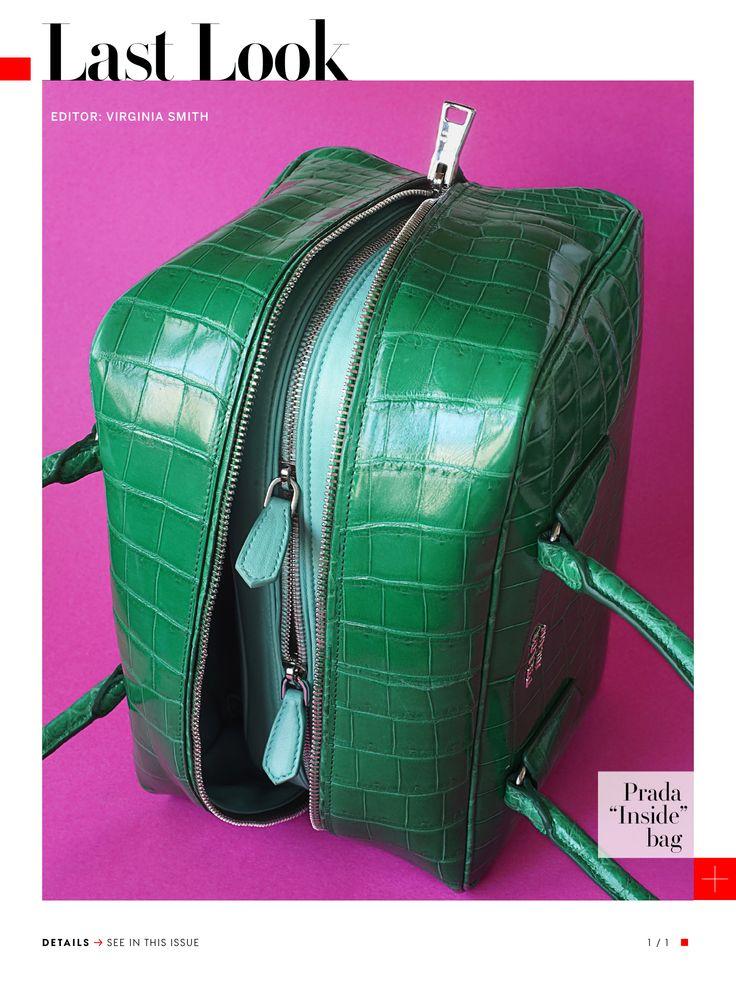 """Prada """"Inside"""" bag"""