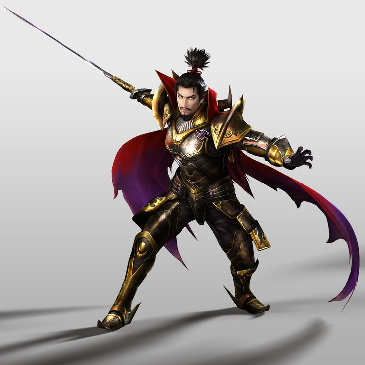 Nobunaga en Samurai Warriors 4.