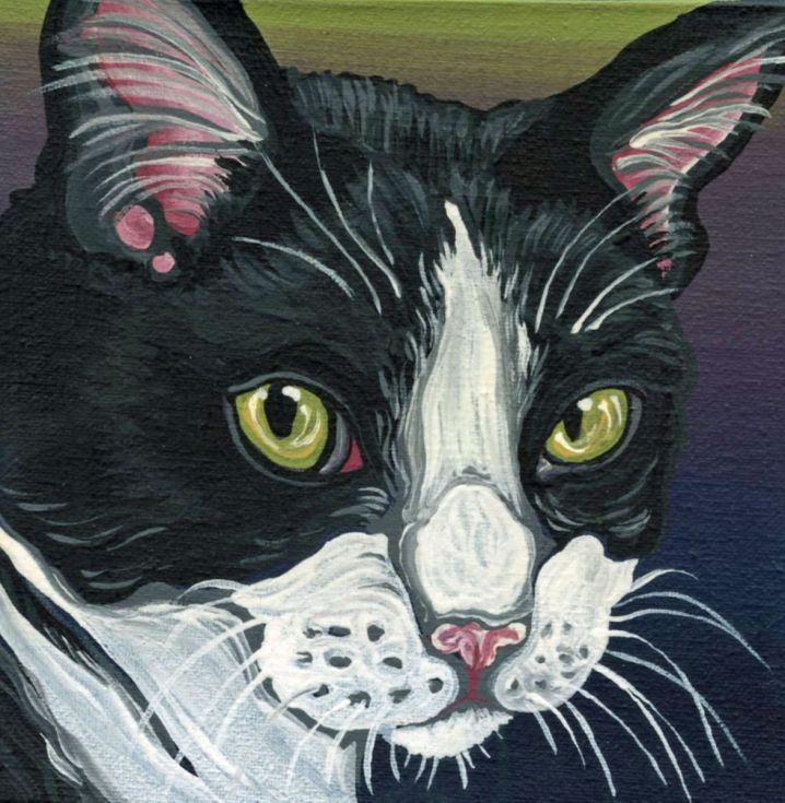Buy Tuxedo Cat Pet Original Magnet Art-Carla Smale, Painting by carla smale on Artfinder. Discover thousands of other original paintings, prints, sculptures and photography from independent artists.