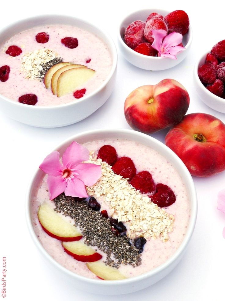 Smoothie Bowl Recipe - https://ooh.li/b27c72d perfect for healthy back to school breakfast!