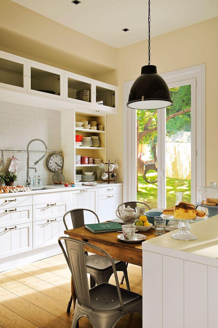 17 mejores ideas sobre paredes en blanco en pinterest - Cambiar suelo cocina sin obras ...