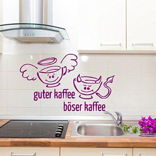 17 Terbaik ide tentang Wandtattoo Küche Selbst Gestalten di - wandtattoos küche kaffee