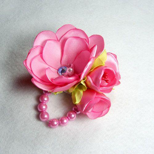 Bros Jilbab Mutiara Rose Pink | Aksesoris Handmade