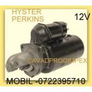Electromotor stivuitor Hyster H4,50 xl motorizare perkins motor 61.5kw, 4cilindri, anii 97 Electromotor ce rezista la  ulei are membrana de protectie Mai poate fi montat pe H50F, H100XL, H110XL, H130XL, H-80XL electromot...