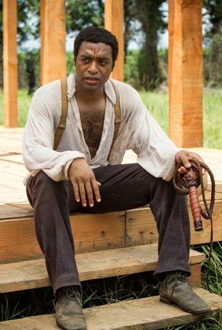 """Chiwetel Ejiofor. Oscar 2014 nominee. Best Actor in a Leading Role for """"12 years a slave"""", 2013. Character: Solomon Northup."""