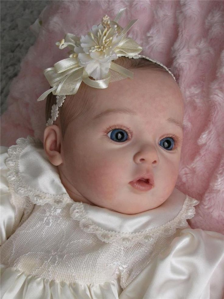 THE MAGIC OF DOLLS REBORN baby °TIFFANY° from Natali Blick  kit                                                                                                                                                     More