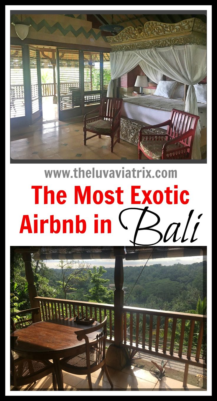 Bali is at the top of everyone's travel bucket list. Make sure you stay at this amazing Airbnb in Ubud! Cheap luxury in...