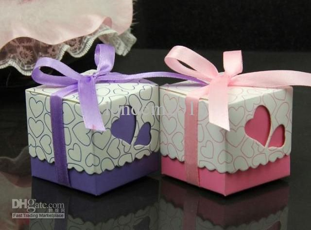 Whole Favor Candy Bo Hot Ribbons Wedding Hollow Out