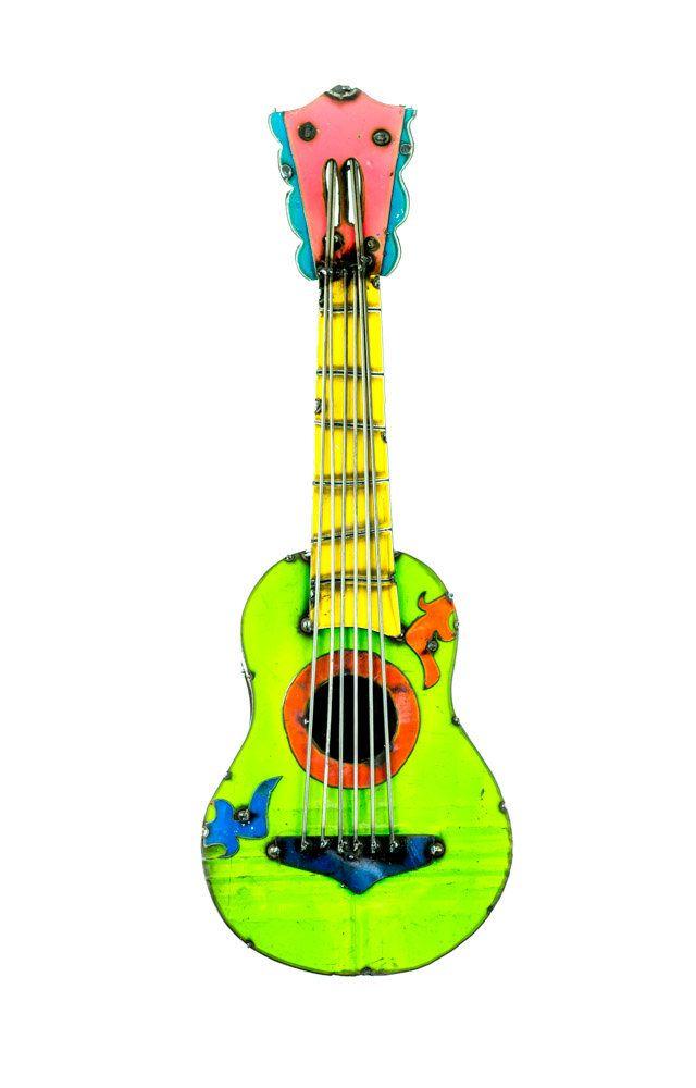 Small Guitar Wall Décor