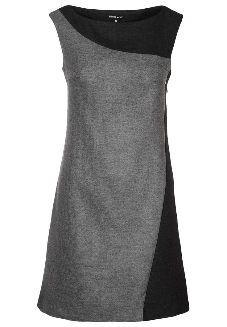 Best Mountain Shift dress - grey