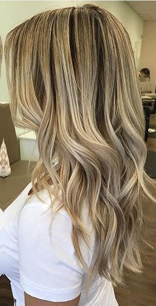 mid blonde beige highlights                                                                                                                                                                                 More