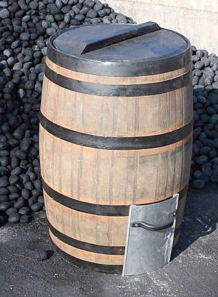 Coal barrel Coal bunker Wood storage Garden buildings