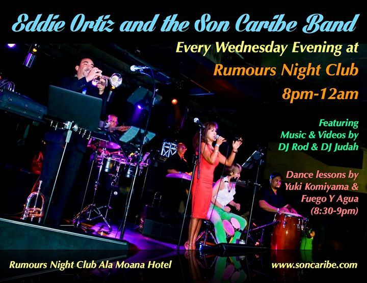 Son Caribe - Rumours Night Club's Hot Latin Nights! - http://fullofevents.com/hawaii/event/son-caribe-rumours-night-clubs-hot-latin-nights-12/