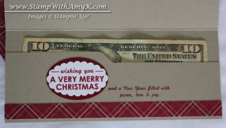 great tutorial on how to make this cute money holder with the envelope punch board.