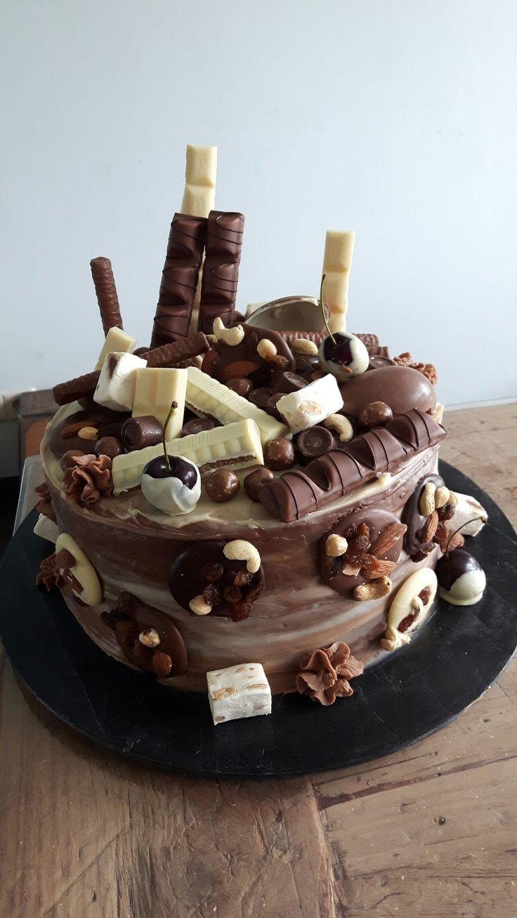 Choco bom taart.  @handmadebylenicka