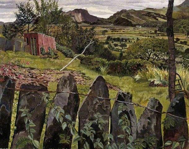 Landscape in North Wales  Stanley Spencer