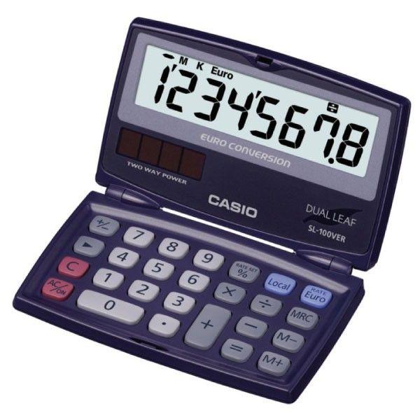 Calculadora de bolsillo Casio SL-100VER | Diacash