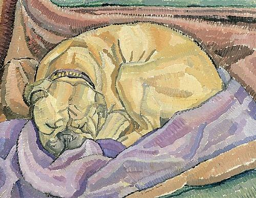 Grace Cossington Smith Krinkley Konks Sleeping 1927-28