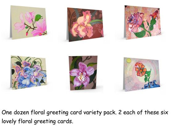 Expressionist fantasy flower painting  one by KathyPoitrasArt