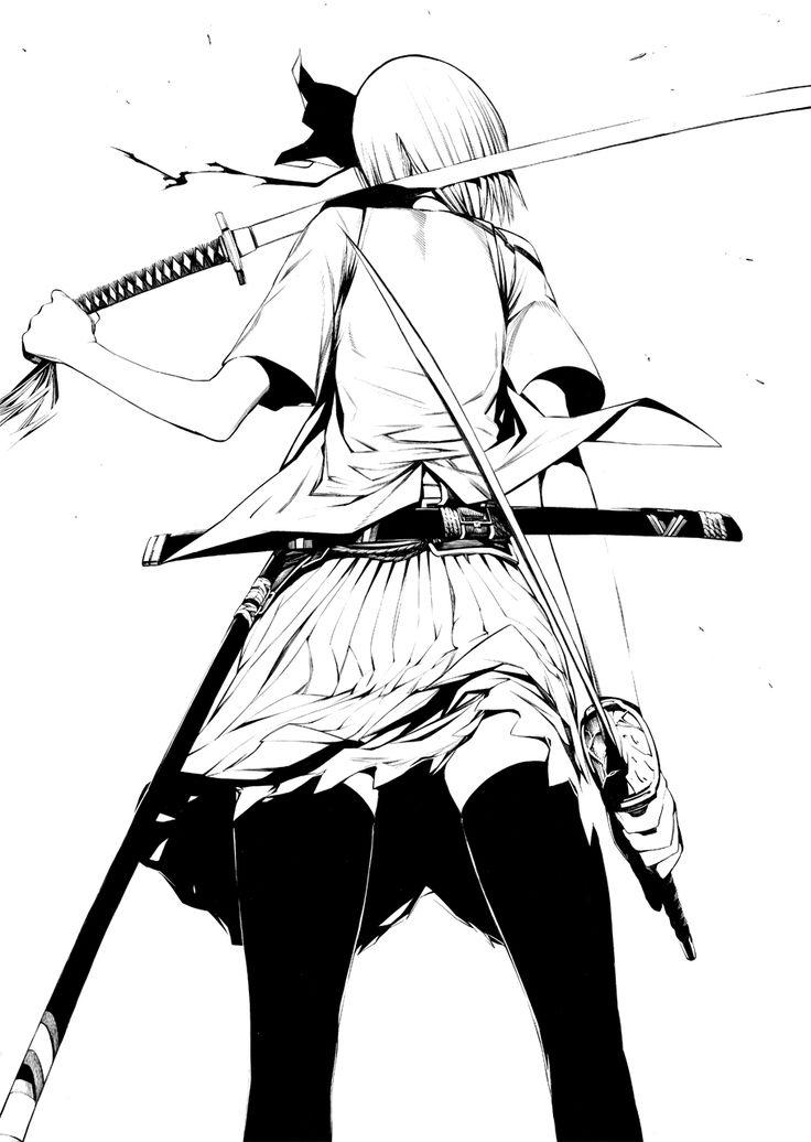 23 Best Anime Girl Sword Images Anime Girls
