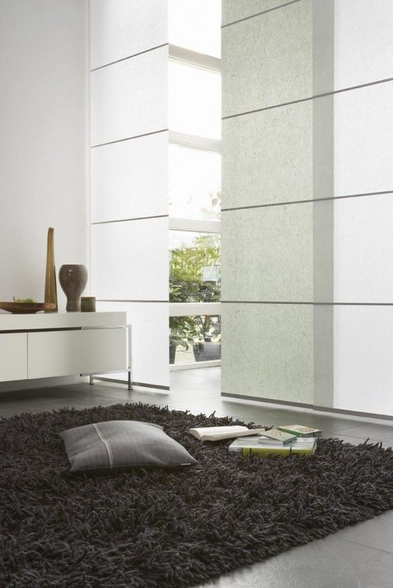 Minimalism And Versatility: 20 Japanese Panels Ideas For Your Home Decor - DigsDigs