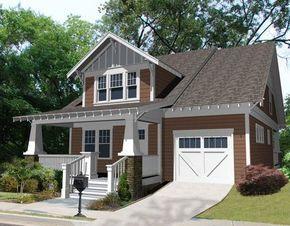 Planos de casa tipo americana con 3 dormitorios