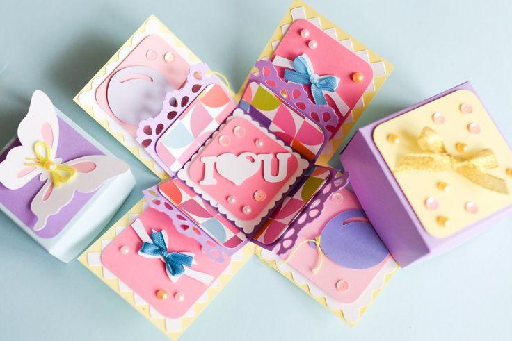 Thanks for watching! Please like and subscribe :) Tutorial: How to make exploding box for birthday valentine's day | Jak wykonać eksplodujące pudełko na urod...