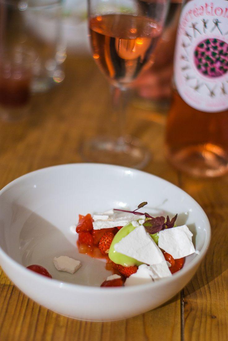 alain milliat bordeaux experience dessert fraise