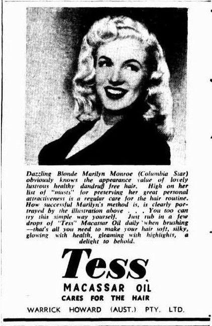 Tess Macassar Oil   West Australian News, 1950