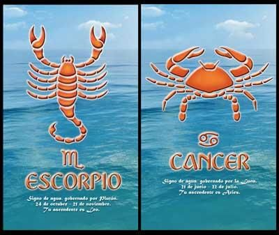 Scorpio_Cancer:-They make very happy and satisfying relationship with good humor and care of Cancer man and Passionate love of Scorpio woman. Cancer man and Scorpio woman can have easy going life except when it comes to take orders from each other. They both are dominating people and their need to be in charge can create problems in this relationship...
