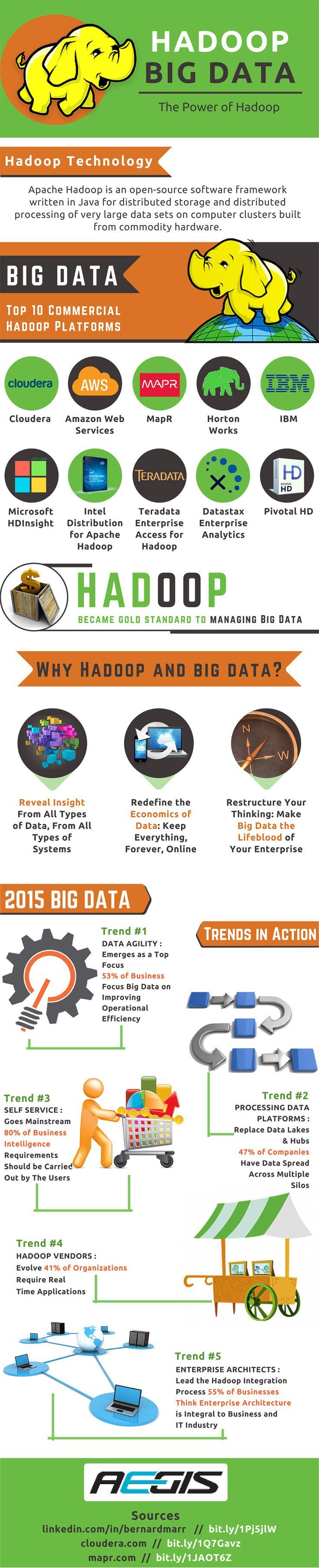 How #Hadoop #Big #Data Management Become Golden Standard To Managing Big Data?  - Top 10 Commercial Hadoop platforms - Why to select Big Data Hadoop? - 2015 Big Data - Trends in action