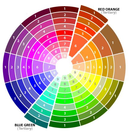 complimentary colors two colors opposite each other on the color wheel - Picture Color