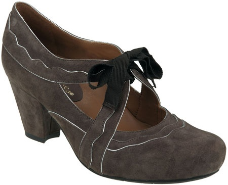 The Sarenza in Dark Taupe Suede from PlanetShoes.com