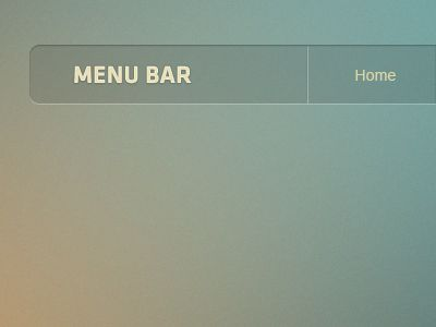 #Transparent navigation menu web design