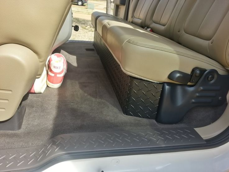 Diamond Plate Under Seat Storage Ford F150 F150 Ford