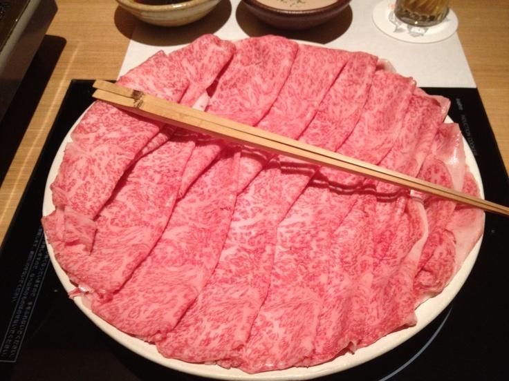 Shabu Shabu beef in Japan  #nabe