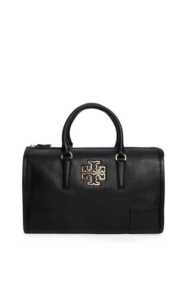 Väska Britten Satchel BLACK/GOLD - Tory Burch - Designers - Raglady