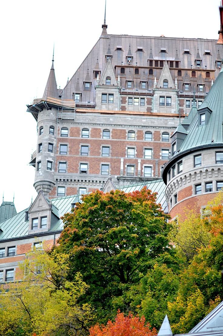 Fairmont hotel in Quebec city